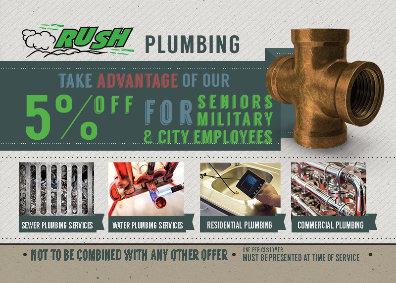 Seattle Plumber Discount Special
