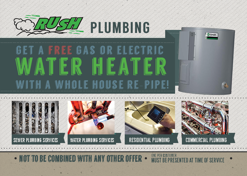 Seattle Water Heater Installation Discount Special